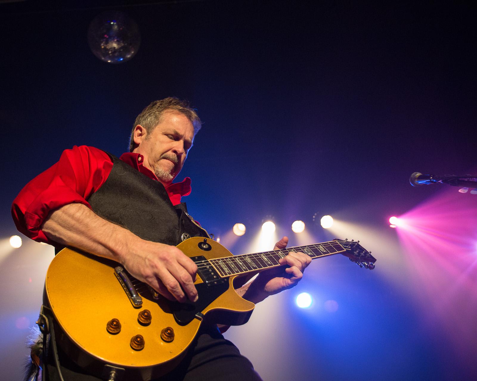 Driver Band guitarist Frankie Winn