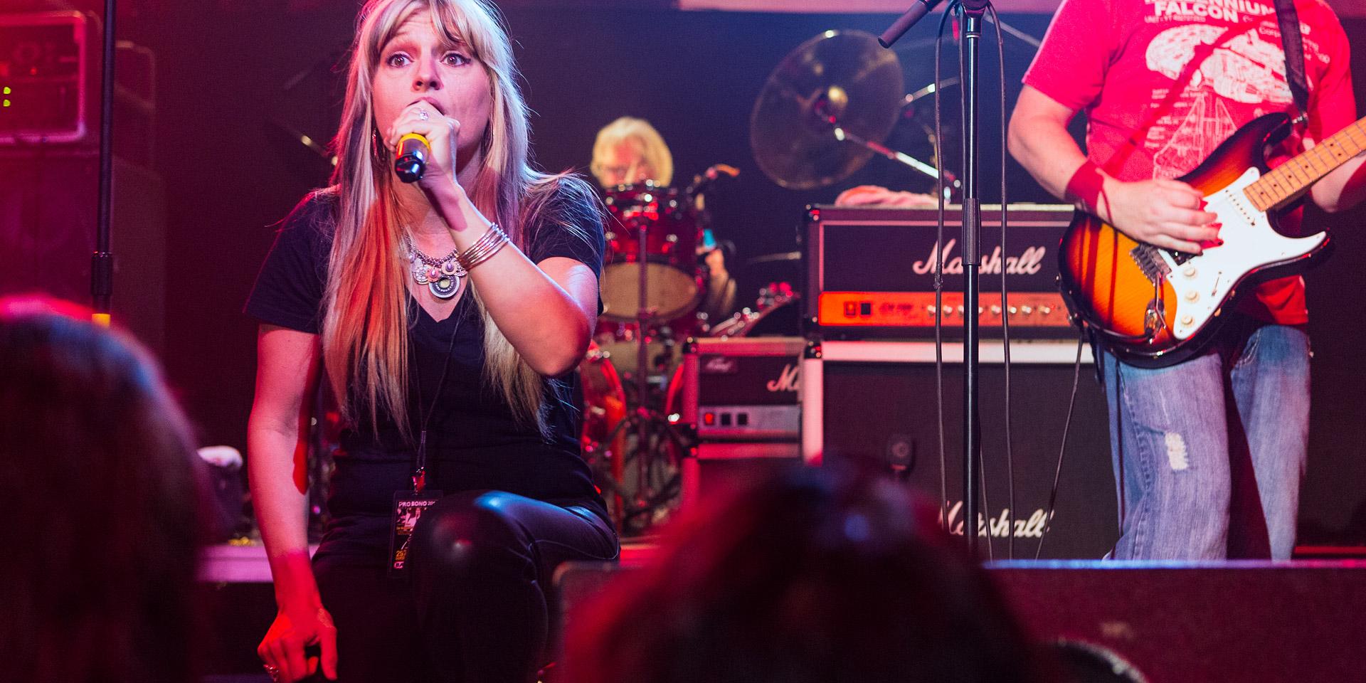 Machine Gun:  A Tina Langevin vocal moment.