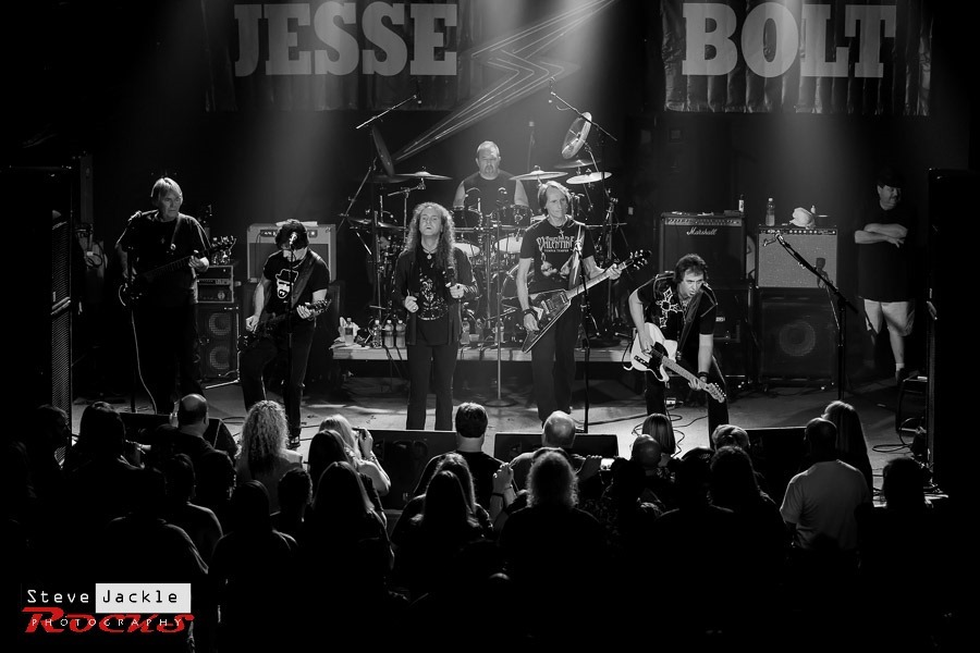 Jesse Bolt Band live at Lincoln Theatre